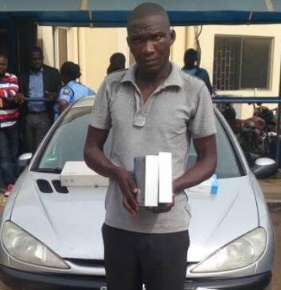 slot nigeria driver arrested stolen goods