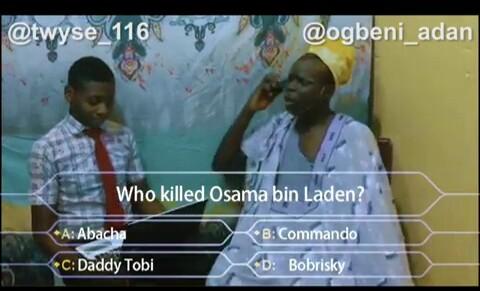 Comedy Video   Twyse 116 ft. Ogbeni Adan – Who Killed Osama Bin Laden? 1